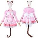 ネコぱら NEKOPARA ショコラ Chocola メイド服 コスプレ衣装