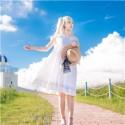 Fate/Grand Order マリー・アントワネット 水着ワンピース キャスター コスプレ衣装