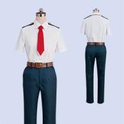 僕のヒーローアカデミア 緑谷出久 雄英高校男子夏制服 コスプレ衣装