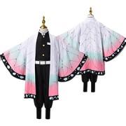 即納品 胡蝶しのぶ 子供用 着物 コスプレ衣装