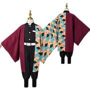 コスプレ風 冨岡 義勇 子供用 コスプレ衣装 コスチューム 変装 cosplay