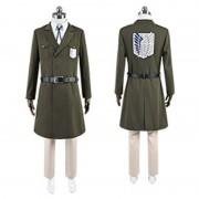 進撃の巨人 調査兵団 兵士長 リヴァイ マーレ軍 コスプレ衣装
