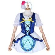 ラブライブ!サンシャイン!! アクア 国木田花丸 WATER BLUE NEW WORLD コスプレ衣装