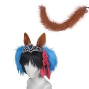マ娘 プリティーダービー ダイワスカーレット 髪飾り コスプレ道具