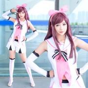 キズナアイ Kizuna AI 人気YouTuber 女性アンカー コスプレ衣装