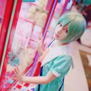 【女性S、M、L・即納品】A3!エースリー! 夏組 瑠璃川幸 洋服 ワンピース コスプレ衣装