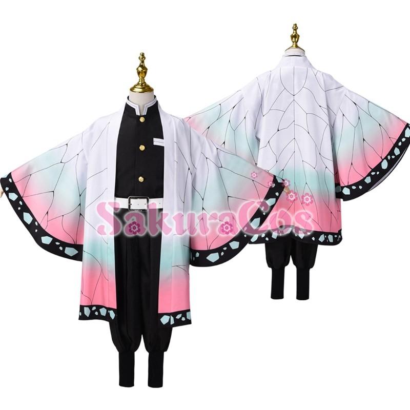 胡蝶 しのぶ 衣装 作り方 鬼滅の刃の胡蝶しのぶ風の羽織を作ってみました【型紙あり】